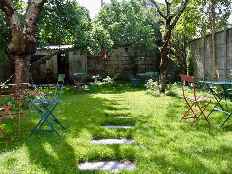 Espace de coworking avec jardin Bordeaux Chartrons | BigFive, Digital Place To Work