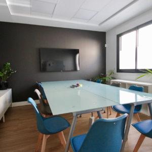 salle de réunion coworking Bordeaux Chartrons
