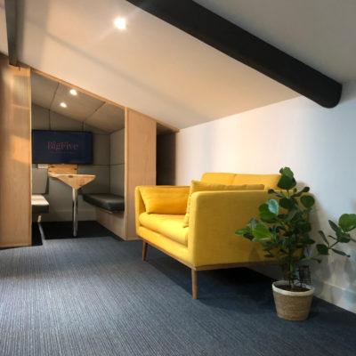 Location d'un bureau privé en mode coworking à Bordeaux Chartrons