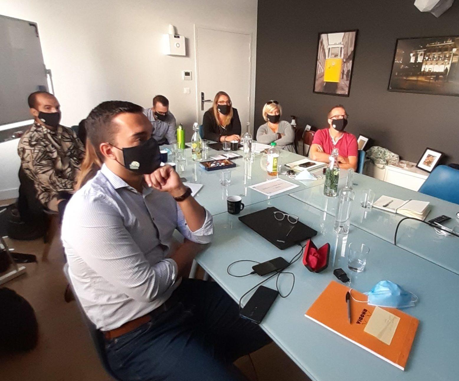 séminaire salle de réunion equipe bonduelle chez Coworking BigFive