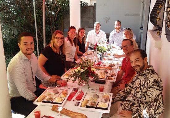 séminaire bonduelle repas chez BigFive