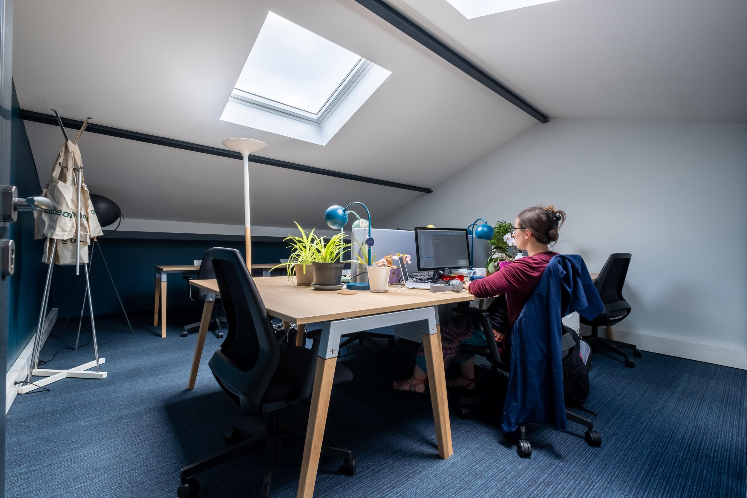 bureau privatisé abbeal chez coworking bigfive