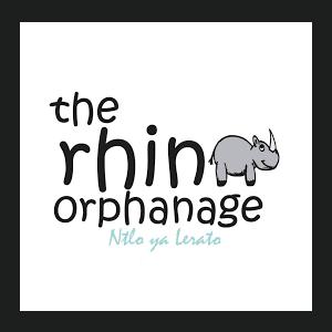 Association The Rhin orphanage rhinocéros